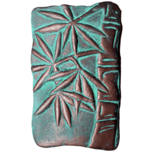 Large Bamboo Wall Plaque Jana Viles