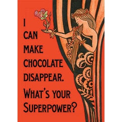 Chocolate Superpower Magnet