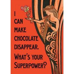 Chocolate Superpower Magnet