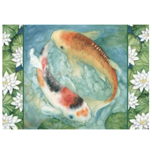 Koi II Greeting Card
