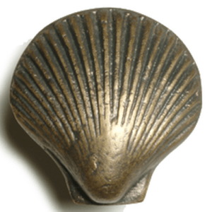 Scallop Shell Cabinet Pull