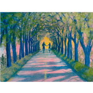 Tree Tunnel Giclée