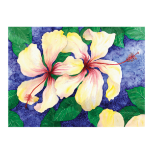 Two Hibiscus Giclée