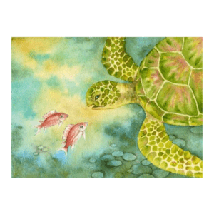 Eye to Eye (Honu) Giclée