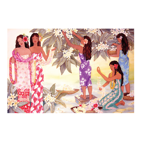 Lei Makers Giclee
