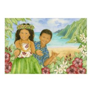 Keiki Aloha Giclée