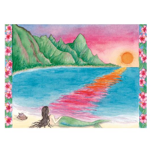 BaliHai Sunset Print