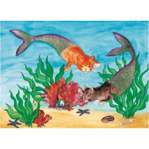 Cat Fish Print