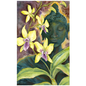 Spirit of the Bronze Buddha Giclée