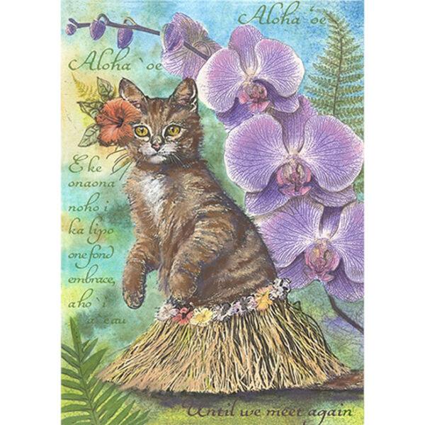 Aloha 'Oe Greeting Card