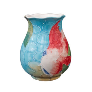 Vase with Scalloped Edge 4018KO