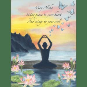 Aloha Lotus Print