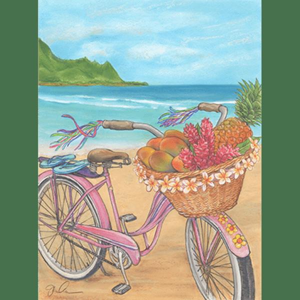 Hanalei Beach Cruiser Print