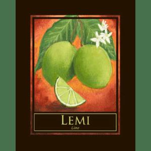 Lemi (Lime) Print
