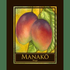 Manako Mango Print