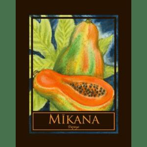 Mikana (Papaya) Print