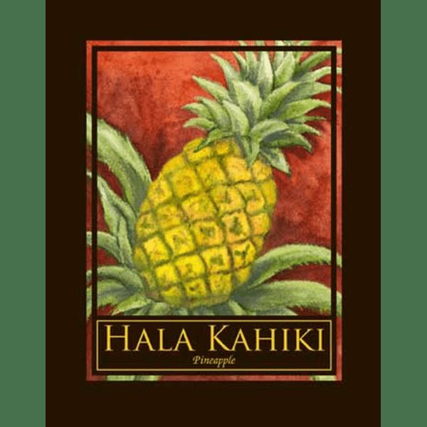 Hala Kahiki Pineapple Print