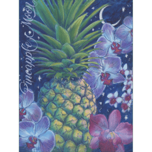 Pineapple Moon Print