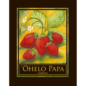Ohelo Papa (Strawberry) Print