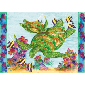 Green Sea Turtles Print
