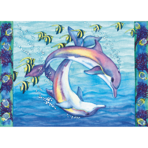 Spinner Dolphins Print