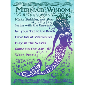 Mermaid Wisdom Print