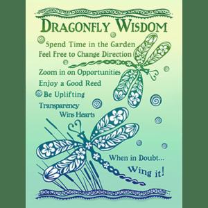 Dragonfly Wisdom Print