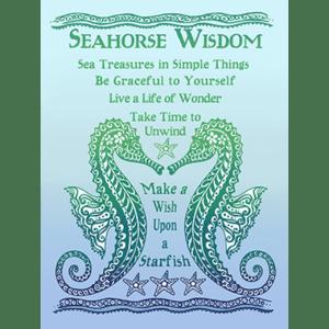 Sea Horse Wisdom print