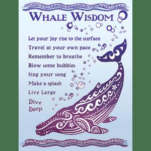 Whale Wisdom Print