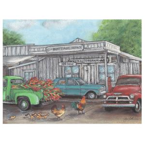 Bert's Auto Repair Print