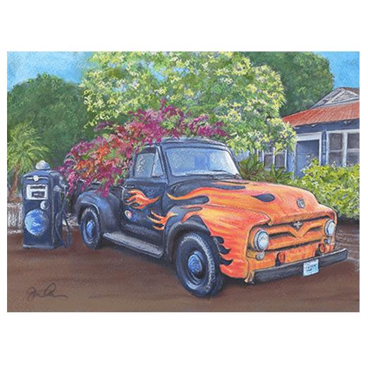 Giorgio's Truck Print