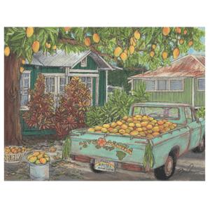 Mango Harvest print