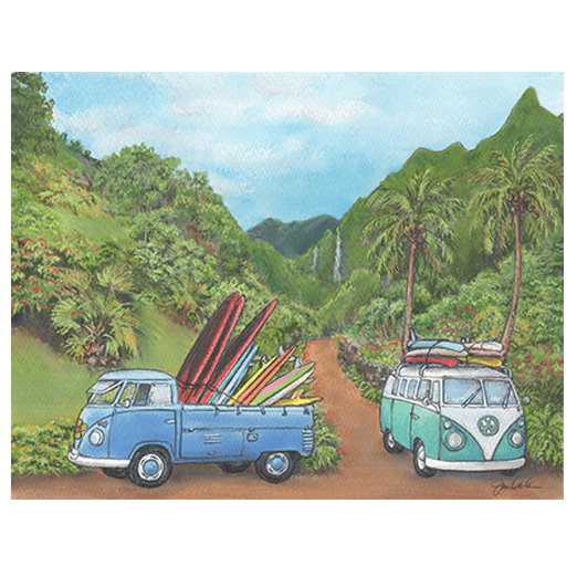 Road to Haena print