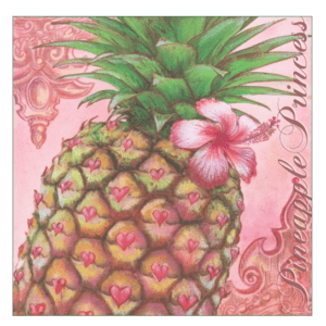 Pineapple Princess Print