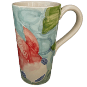 Tropical Koi Tall Flare Mug