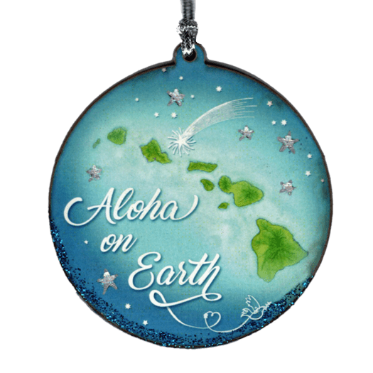 Aloha on Earth Ornament