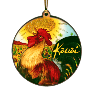 Rooster Kauai Ornament