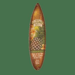 HHonu Wisdom - Wooden Surfboard Sign