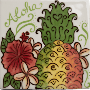 Aloha Sugarloaf Pineapple Tile