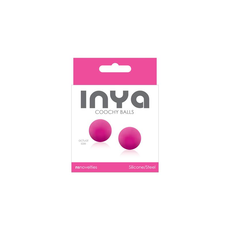Inya Coochy Balls Kegel Rose