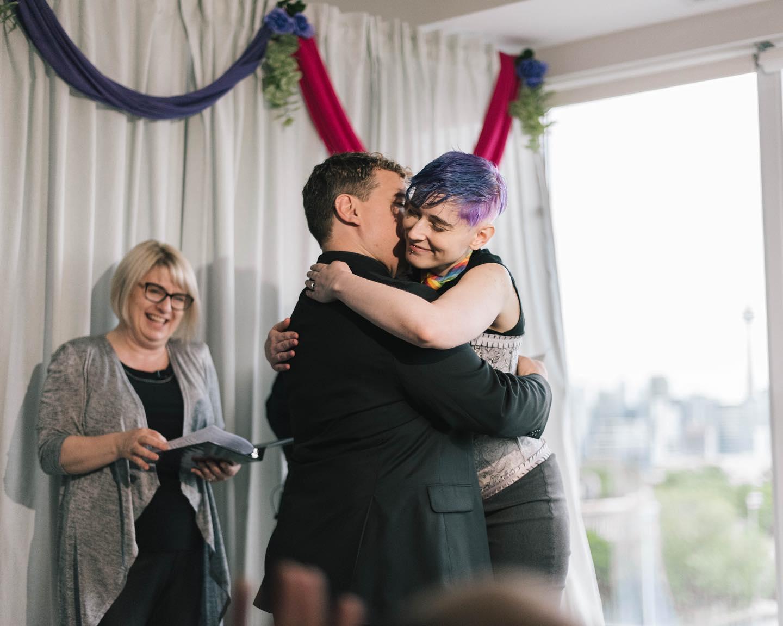 pride toronto weddings
