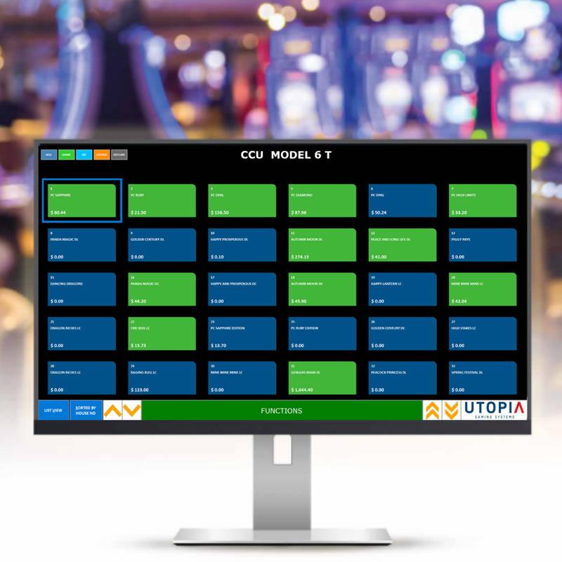 CCU Model Screen