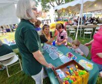 Village Fair Days booth New Milford CT CERT Community Emergency Response Team newmilfordcert.org