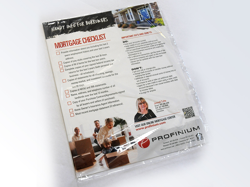 printed labels and packaging