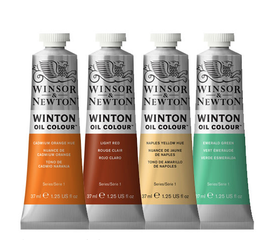 WINTON OIL COLOUR 37ML BURNT UMBER