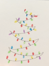 Watercolor Holiday Card Paint Kit
