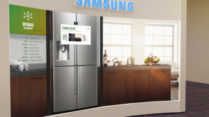 Samsung's vision of buying a fridge, Internet of Things at BestBuy