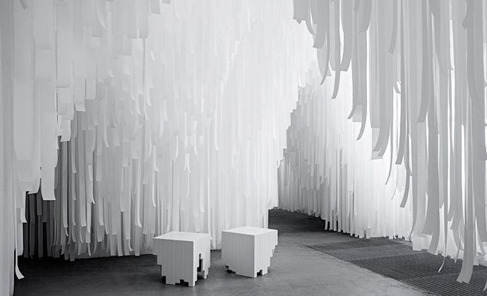 COS x Snarkitecture, Salone del Mobile, Milan 2015