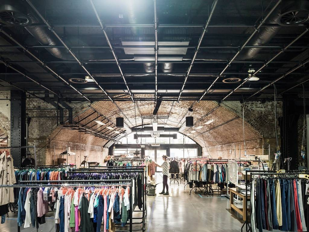 Amazon Fashion's studio in Hoxton, London