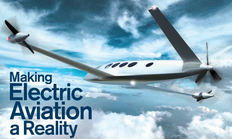 Electric Aviation Image for Portfolio